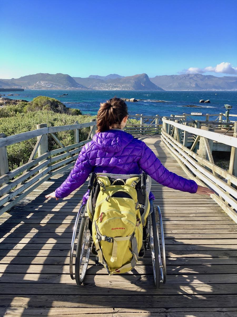 Wheelchair-accessible path at Boulders Beach