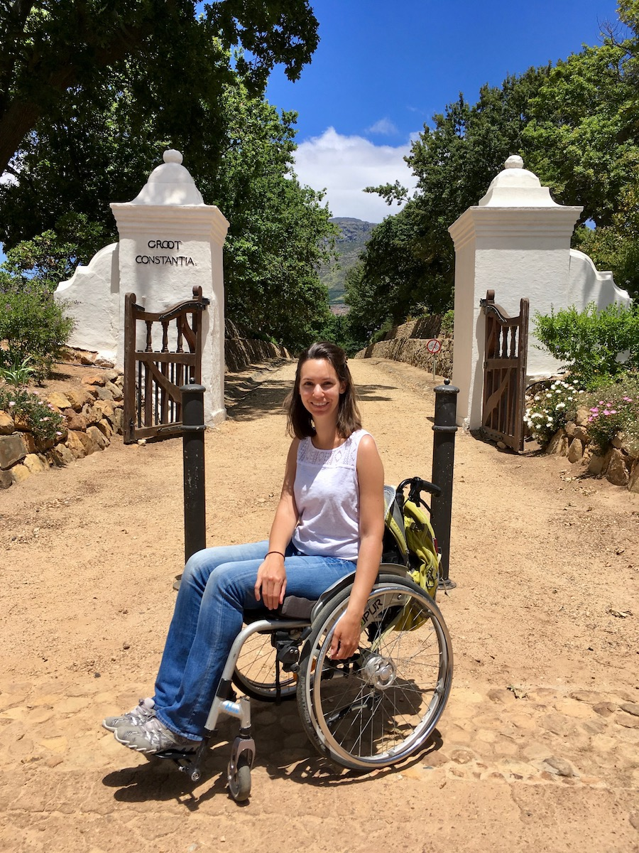 Wheelchair-friendly Groot Constantia