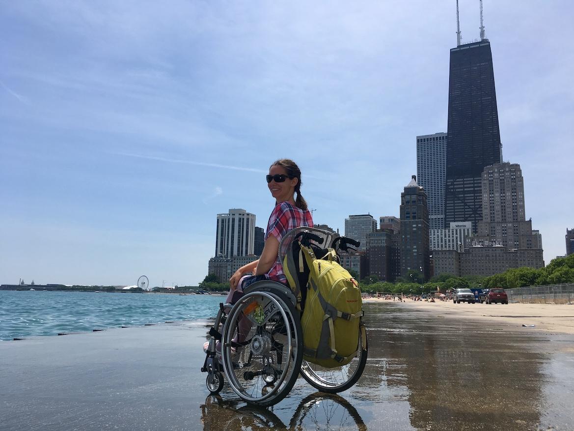 Oak Beach Chicago | Little Miss Turtle