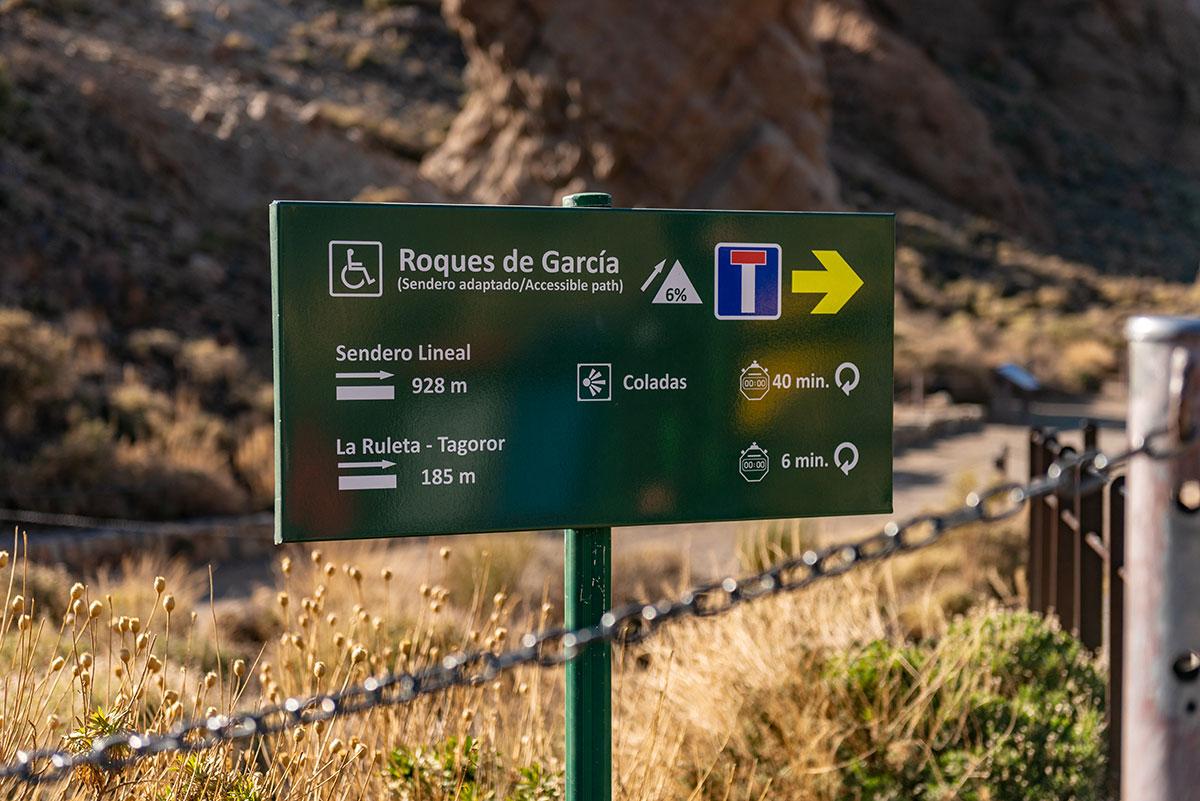 Accessible Roques de García Trail