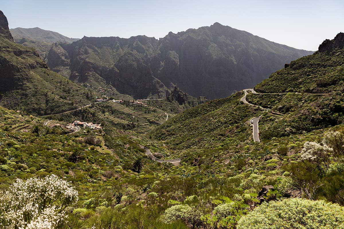 Masca in Teno Mountains