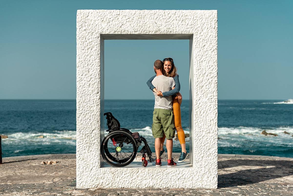 Modern art in accessible Garachico