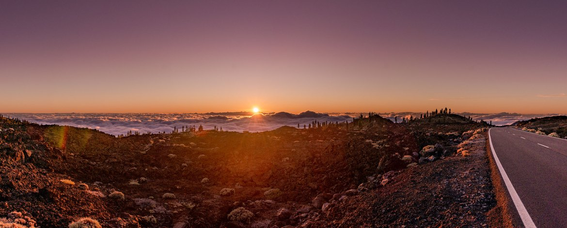 Sunset in Teide National Park ©