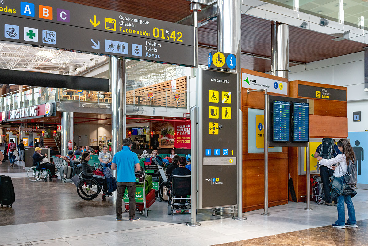 Tenerife Sur Airport Special Assistance