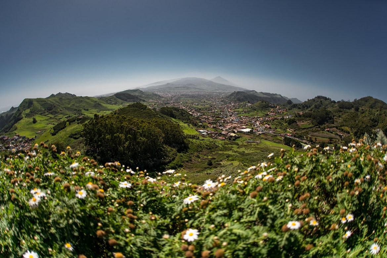 View from Mirador Jardin in Tenerife ©