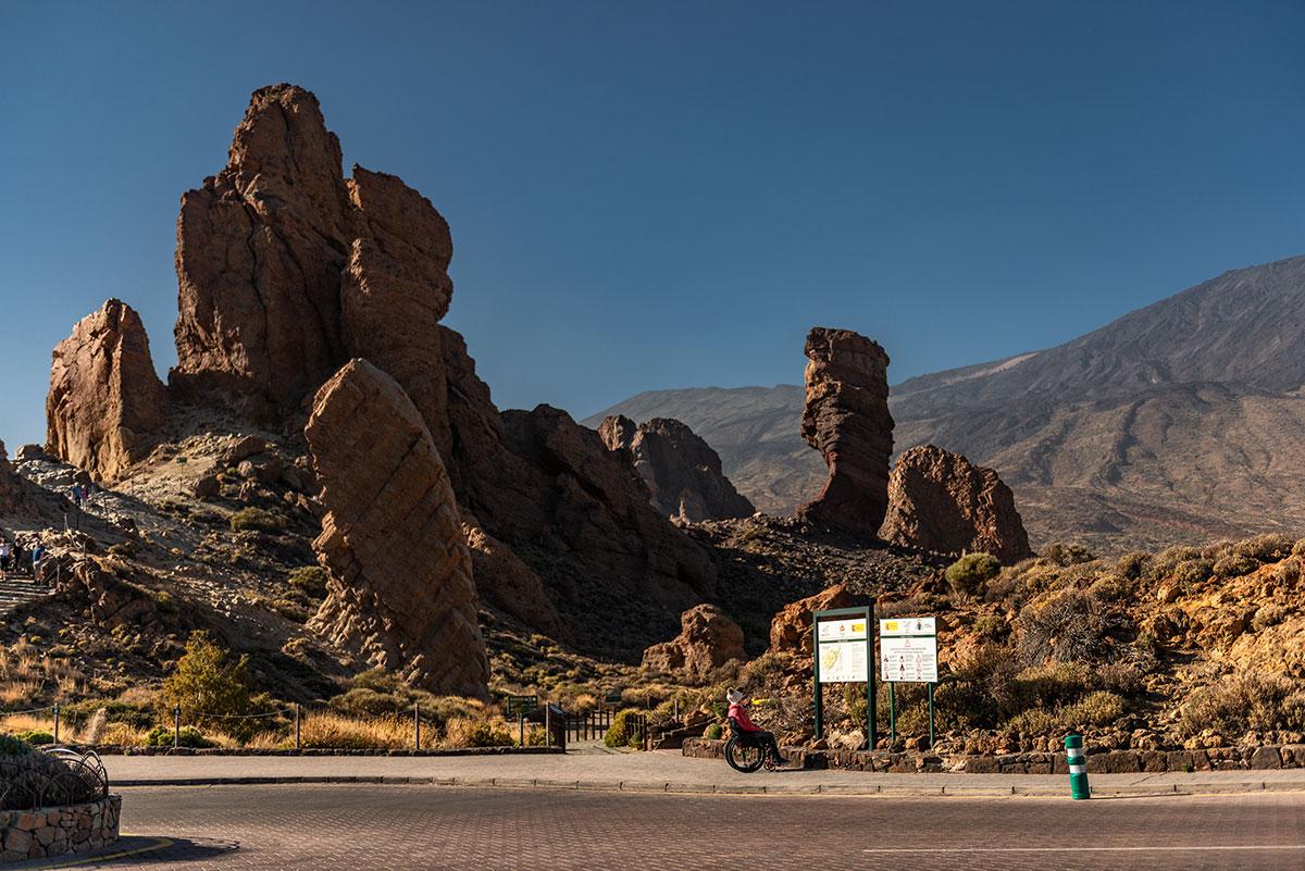 Wheelchair-accessible Roques de García Trail |Little Miss Turtle | Wheelchair Travel Blog