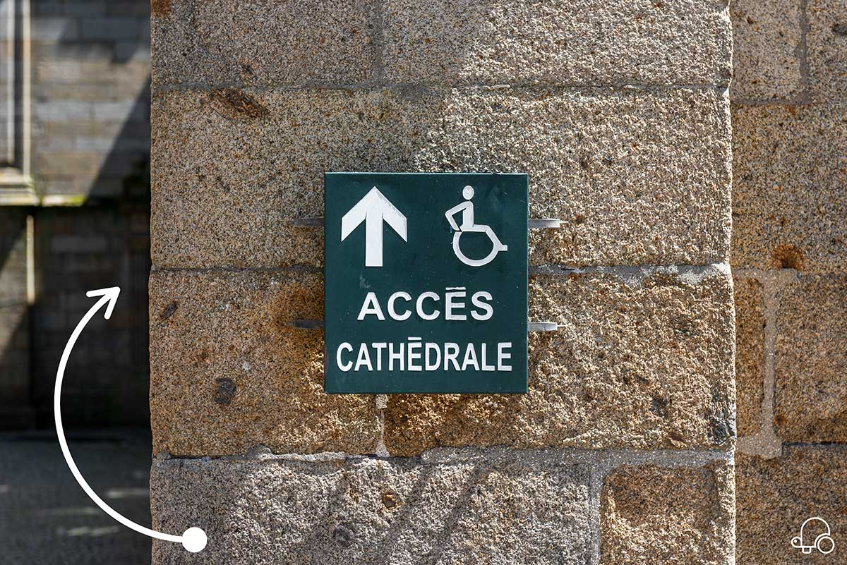 Access Cathedral St Malo | Little Miss Turtle | Wheelchair Travel Blog