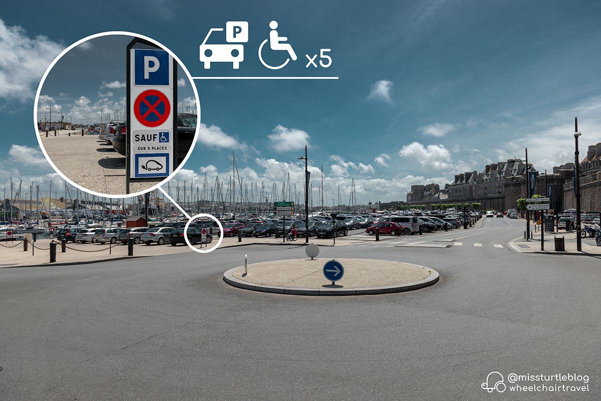 Handicap Parking Gate St Vincent | Little Miss Turtle | Wheelchair Travel Blog