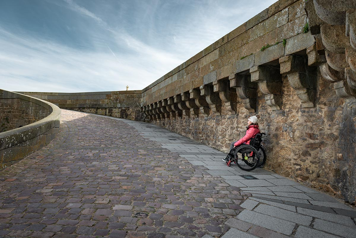 Incline at Bastion St Philippe | Little Miss Turtle | Wheelchair Travel Blog
