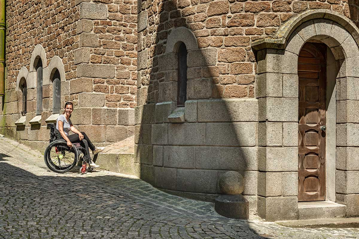 Old town of St Malo | Little Miss Turtle | Wheelchair Travel Blog