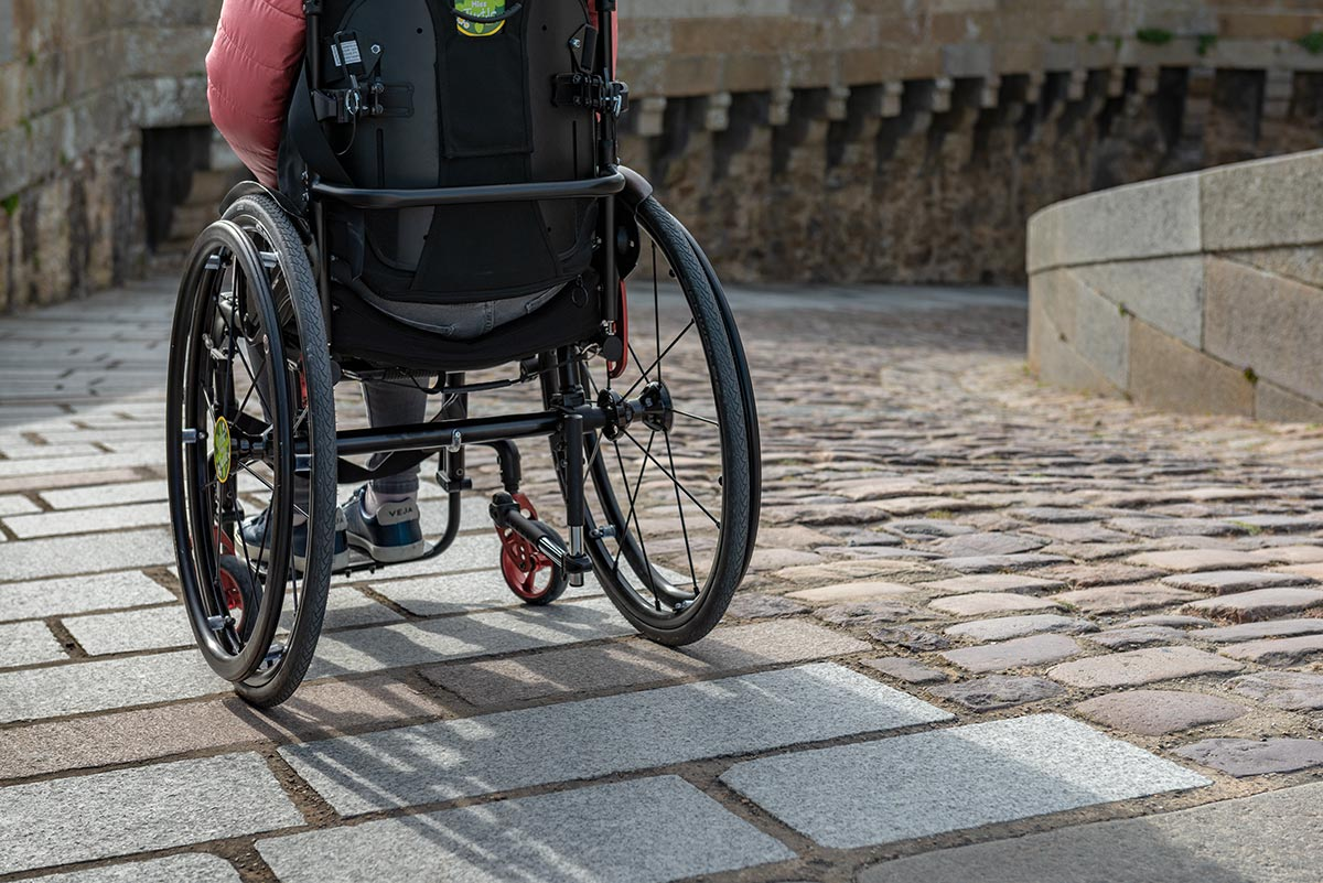 Pathway for wheelchair users | Little Miss Turtle | Wheelchair Travel Blog