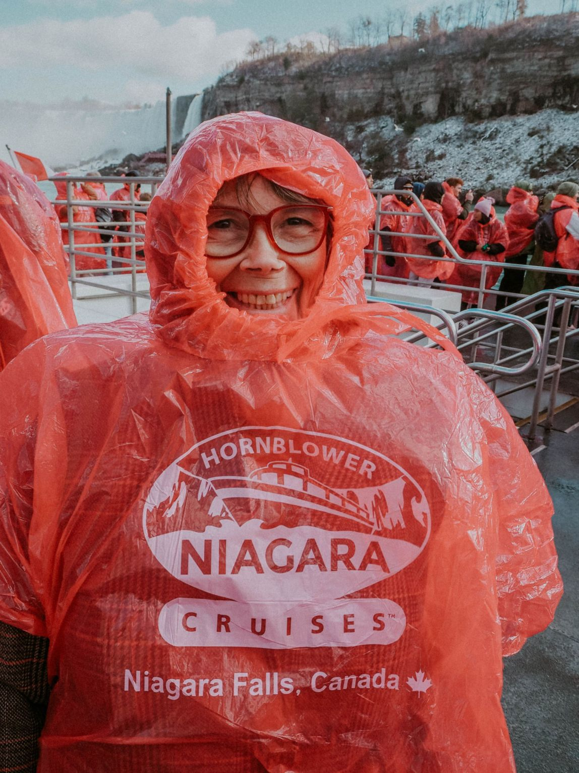 Hornblower boat ride niagara falls queen tours kate winney toronto travel guide canada