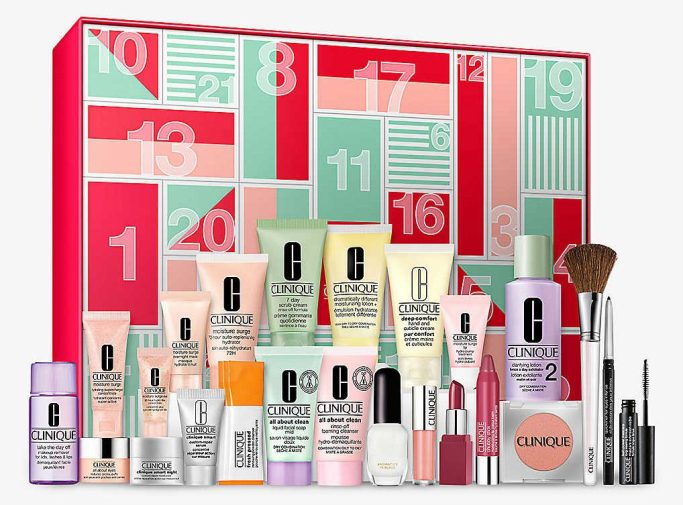 Clinique Skincare Beauty Advent Calendar 2020 Little Miss Winney