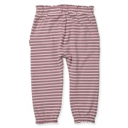 HUST & CLAIRE | SWEATPANTS MED FRYNSER – STRIBET ROSA (str. 68-86)
