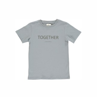 GRO | NORR T-SHIRT, GREY BLUE
