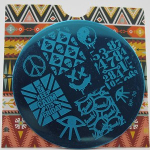 Born Pretty Store Stamping Plate BP-39