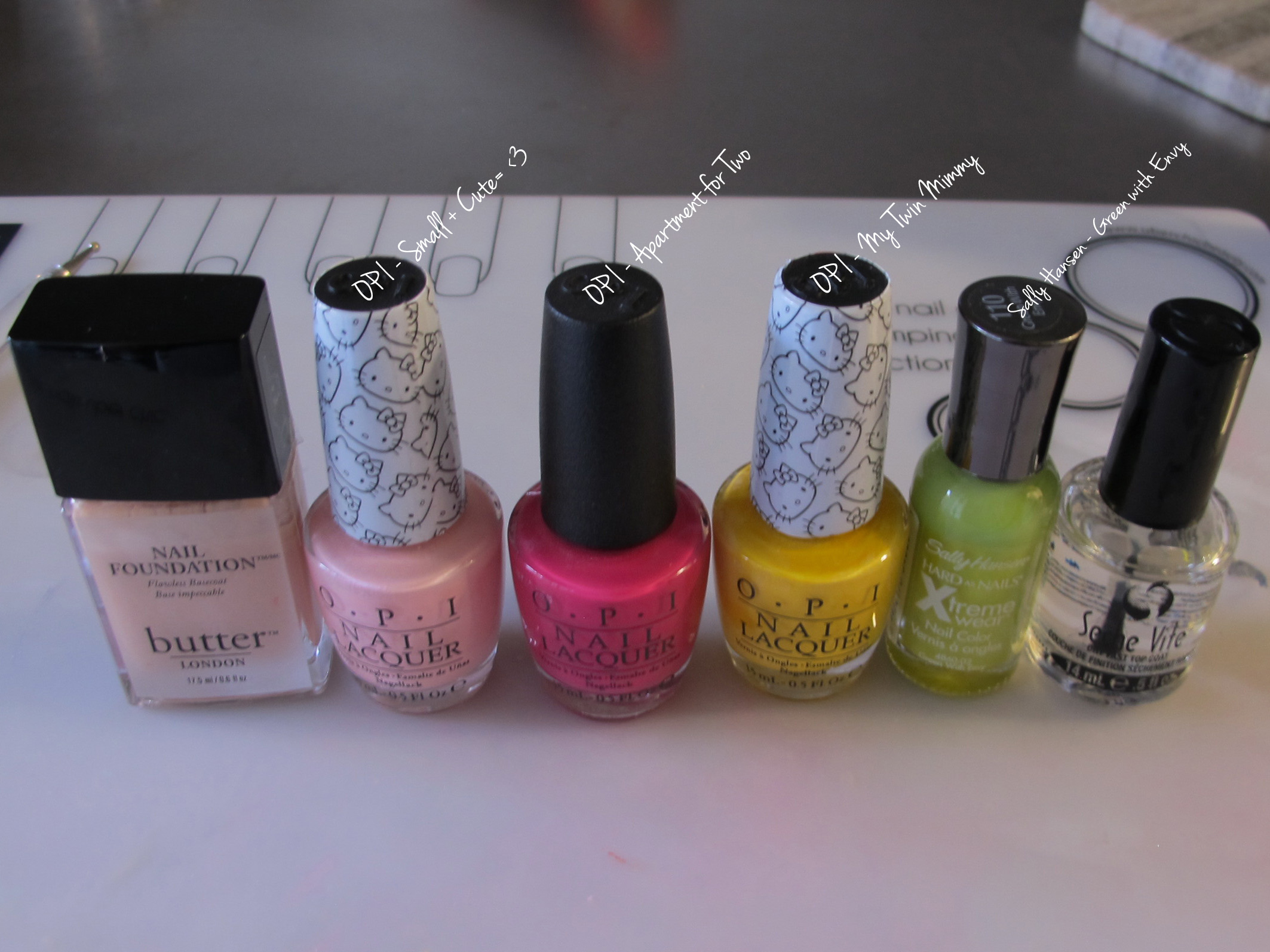 Pink Floral Manicure Tutorial ~ LittleNuclearReactor