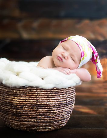 Portland Maine Newborn Photographer | Baby Bridgett Session