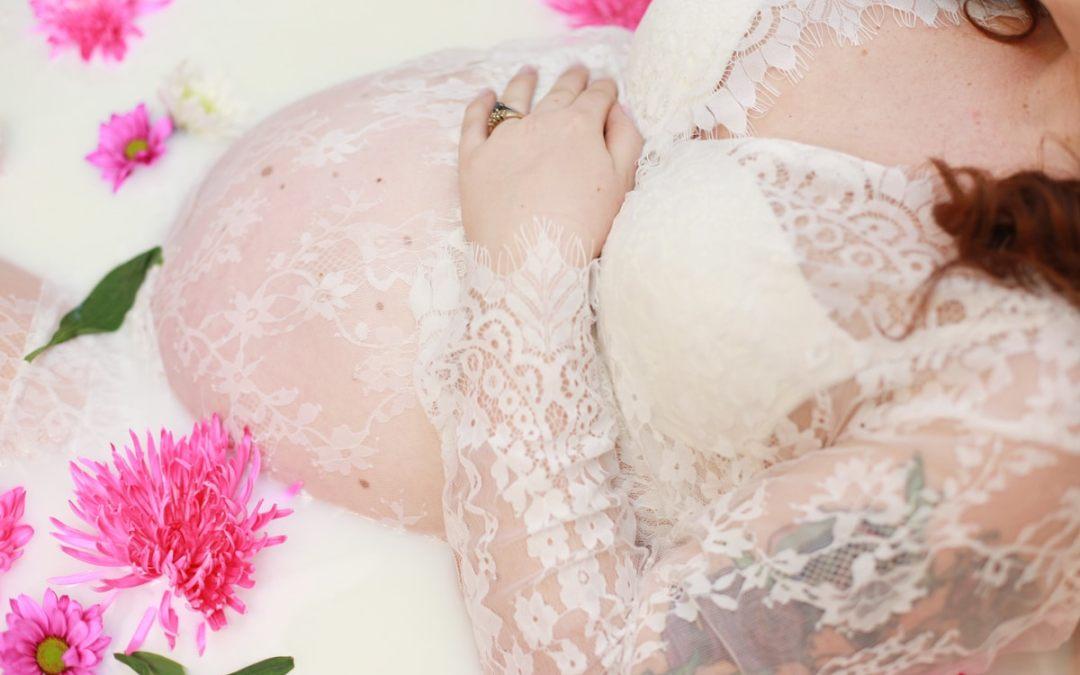 Maine Maternity – Milk Bath Session