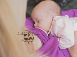 baby breastfeeding photography