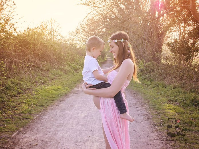 Maternity photography Hythe Kent Mum and son