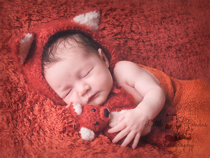 Baby girl fox outfit