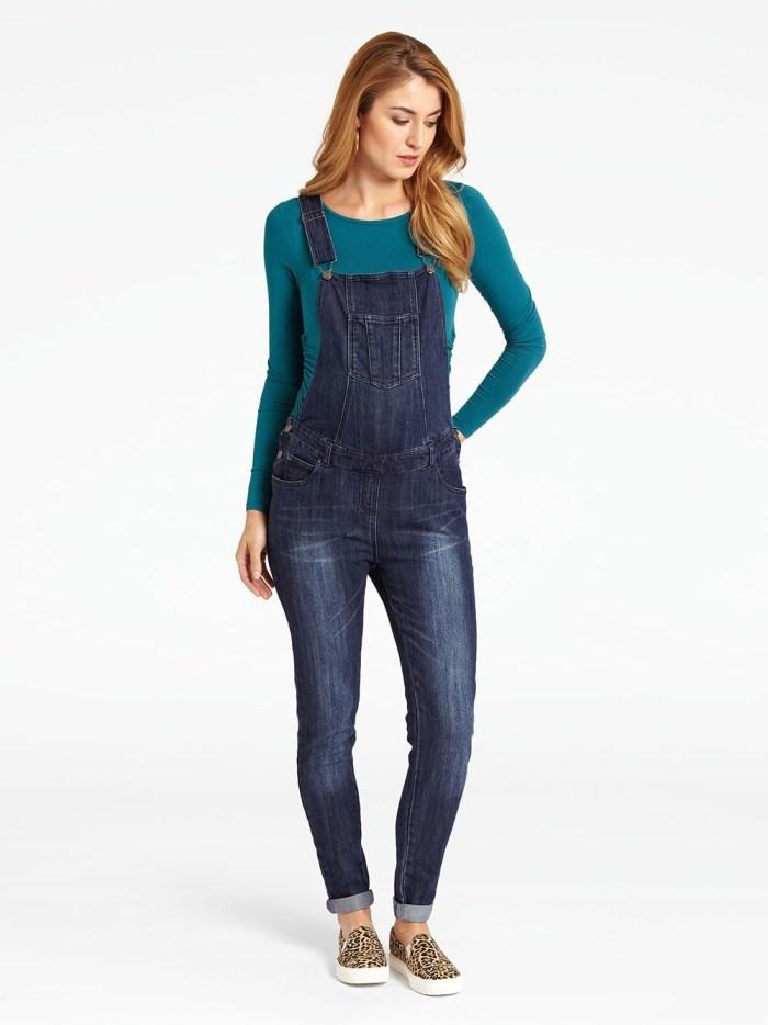 Jojomamanbebe mid wash maternity jeans