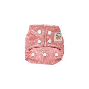 couches bébé lavables pink corail