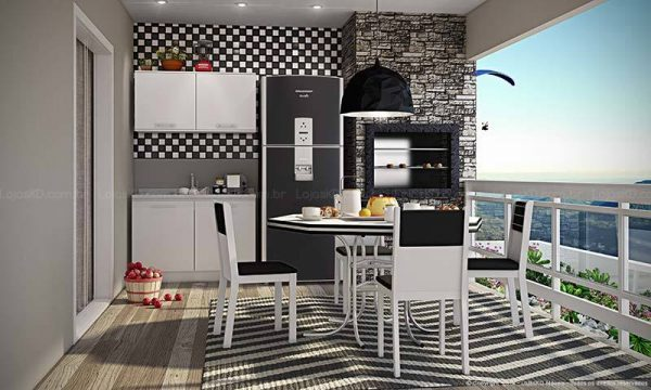 Small Kitchen Design 3d