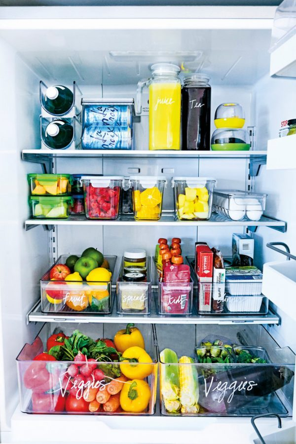 How To Organize Your Fridge Little Piece Of Me