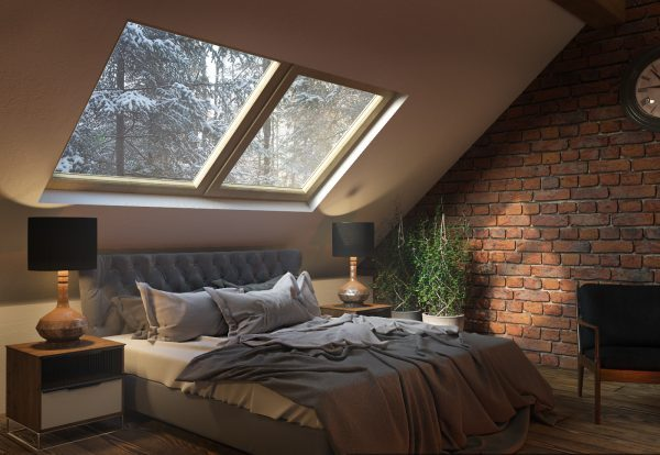 Sleeping Under The Stars Bedroom Skylight Ideas Little