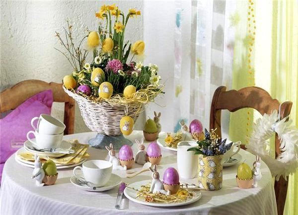 easter table arrangements