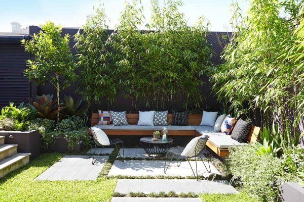 Outdoor garden seating