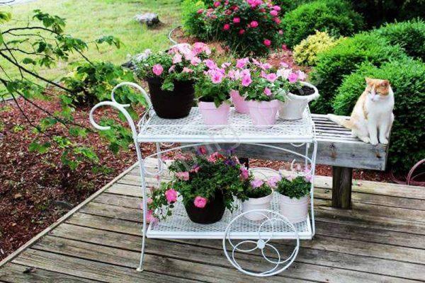 vintage garden cart