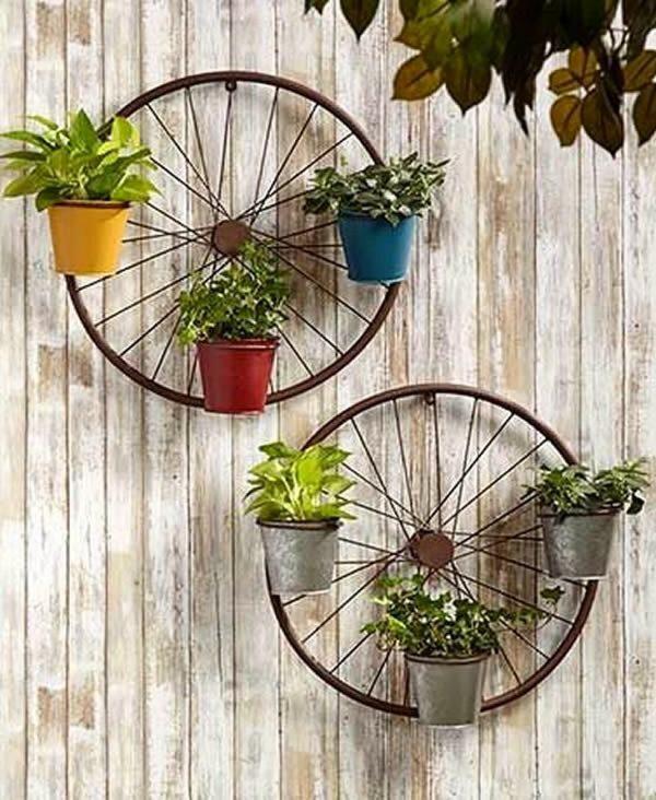 bicycle wheel wall decor