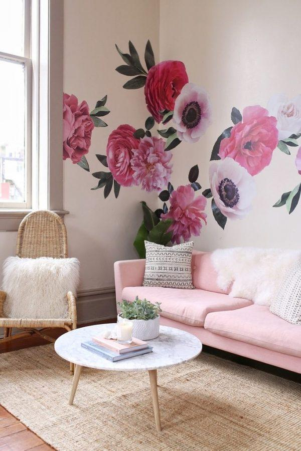 rose wall decor