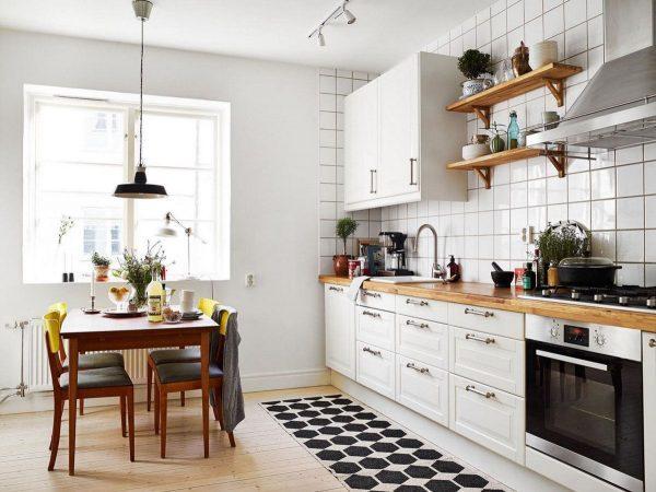 Scandinavian kitchen design 1
