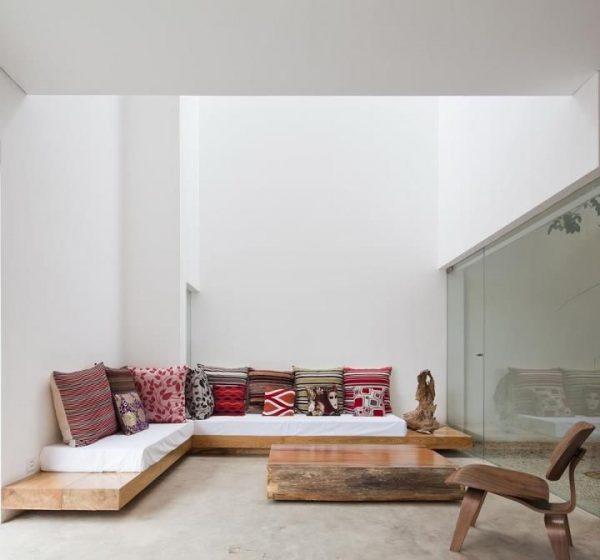 diy wood sofa