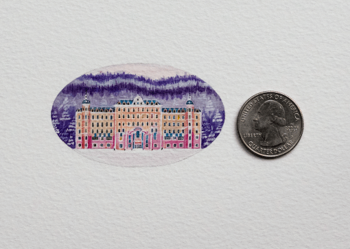 The Grand Budapest Hotel – 38 x 62 mm.