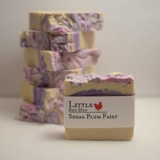 sugar plum fairy soap