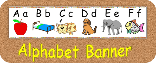 Alphabet Banner resource cover
