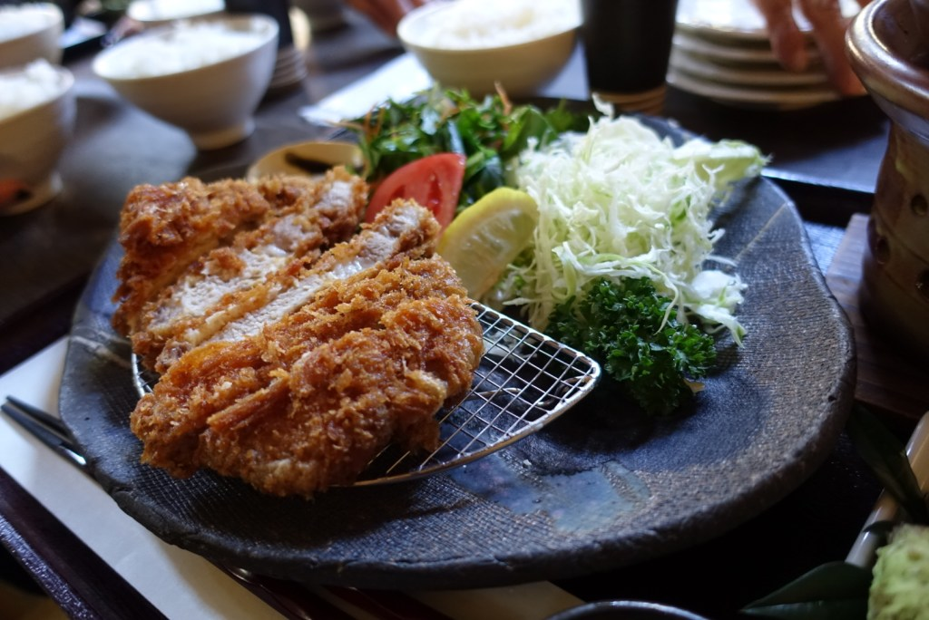 This was the specialty of the restaurant, tonkatsu. I kind of regret not ordering this.