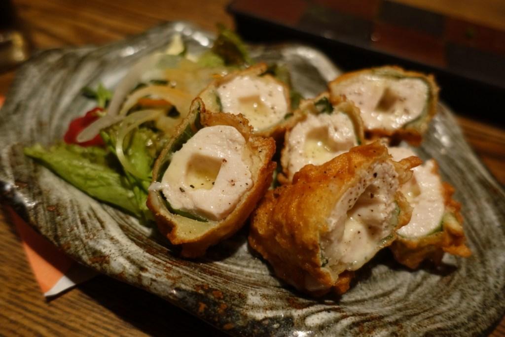 izakaya tokyo ebisu chicken cheese