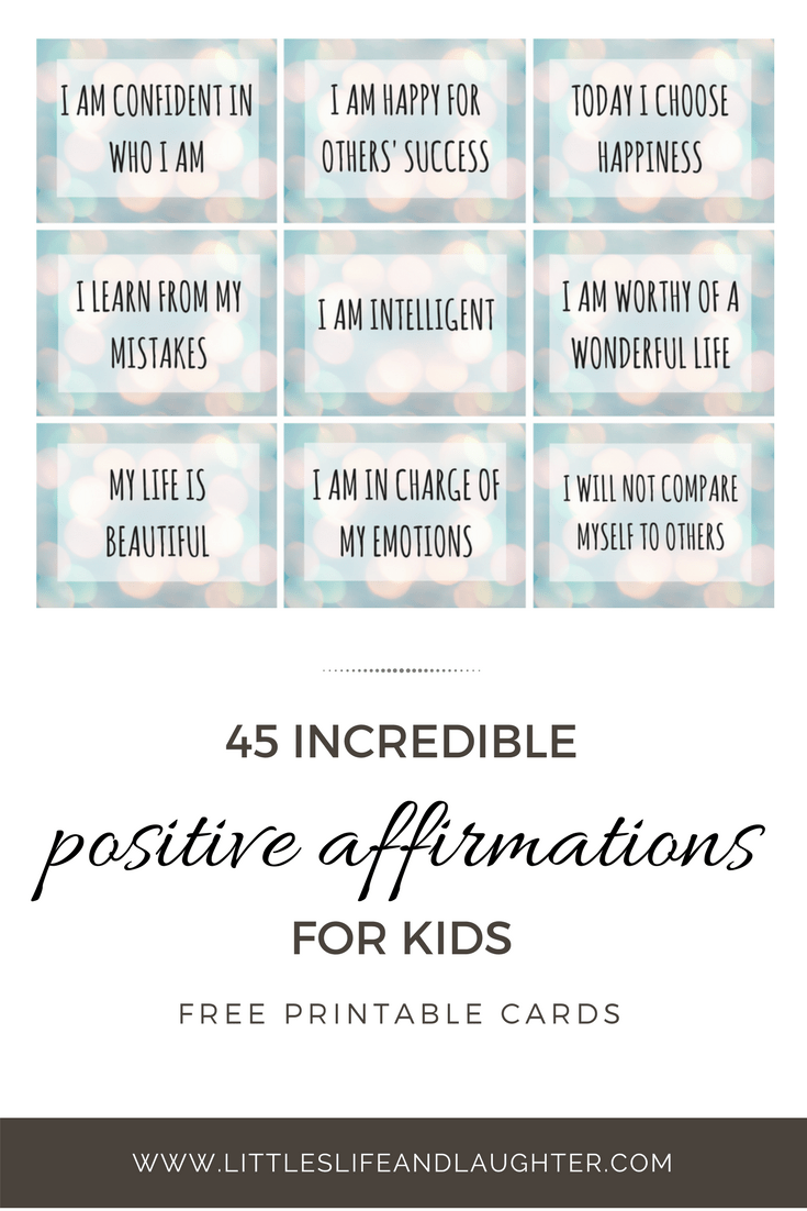 image relating to Affirmation Cards Printable identify No cost Printable Confirmation Playing cards - Littles, Everyday living, Laughter