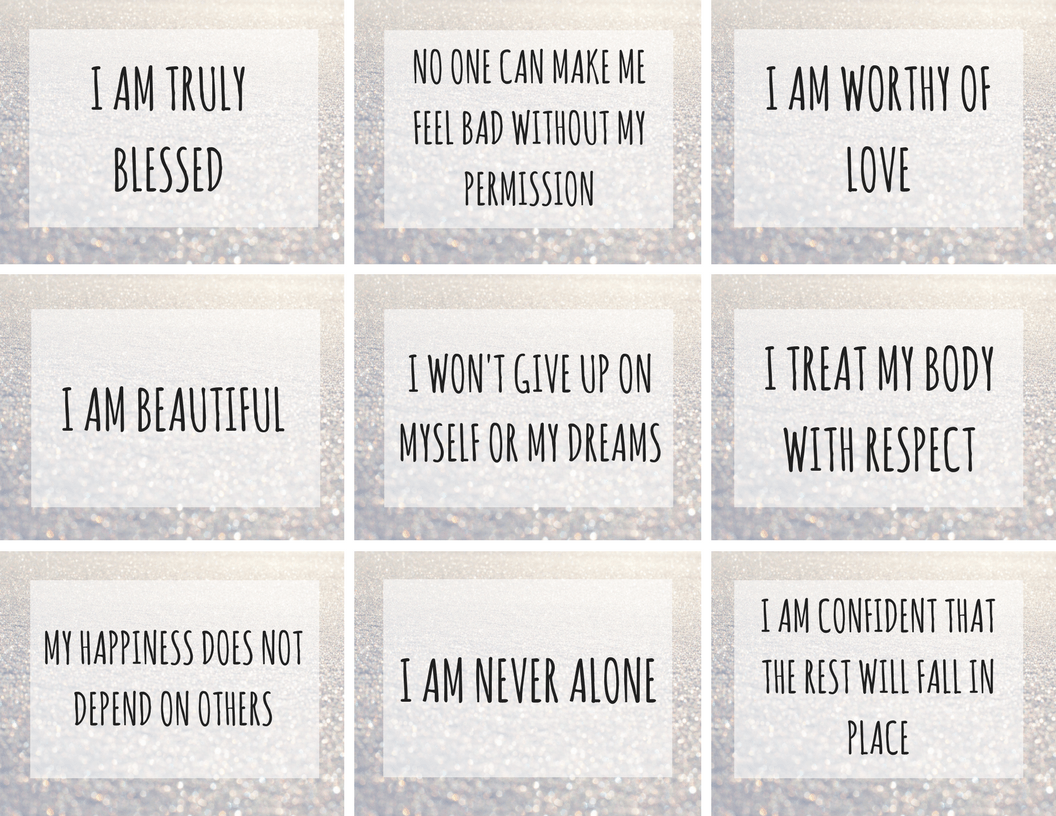 graphic about Free Printable Affirmation Cards referred to as 45 Unbelievable Certain Affirmations for Little ones - Littles, Lifetime