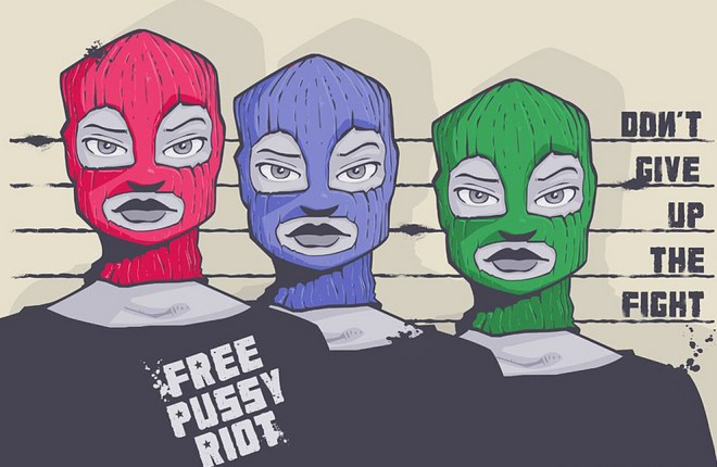 pussy riot -free photo