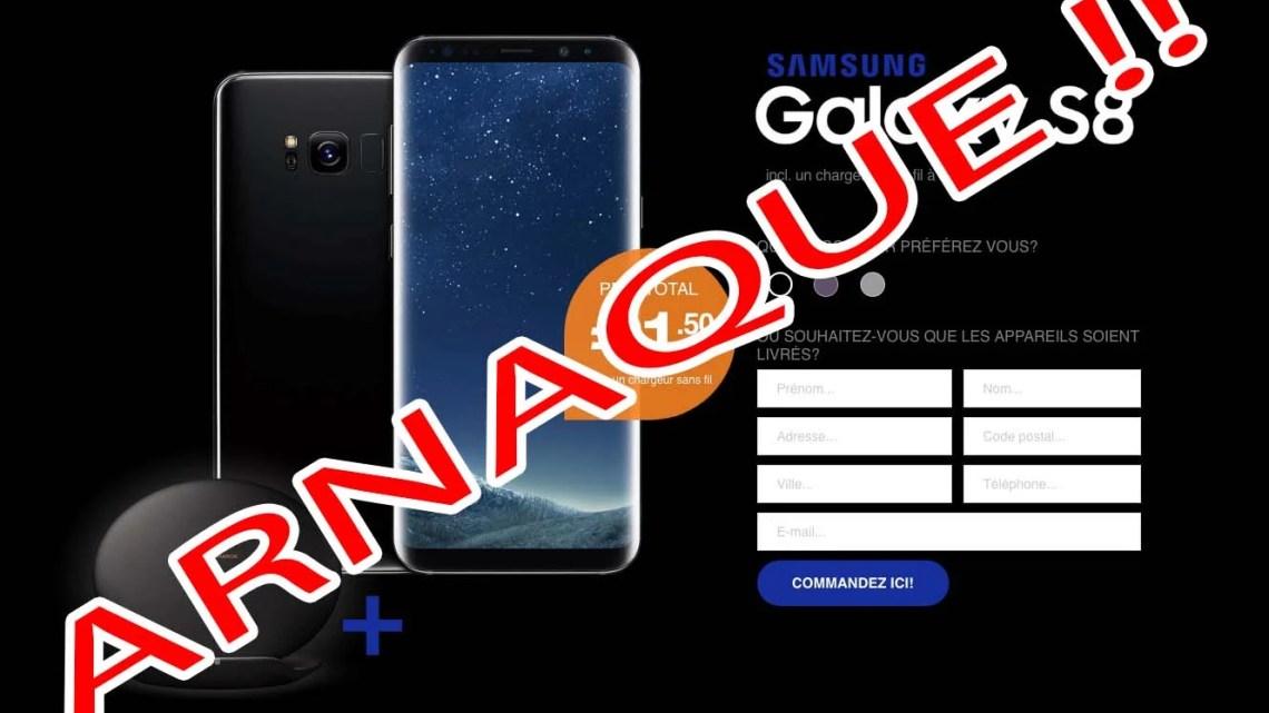 SGS256KRW : l'arnaque au nouveau Samsung Galaxy S8 gratuit ONGLUXOZEX