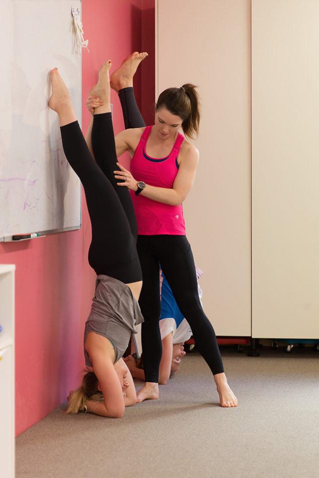 brisbane women's physio yoga class