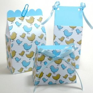 Paper Favour Bags - Little Birdies