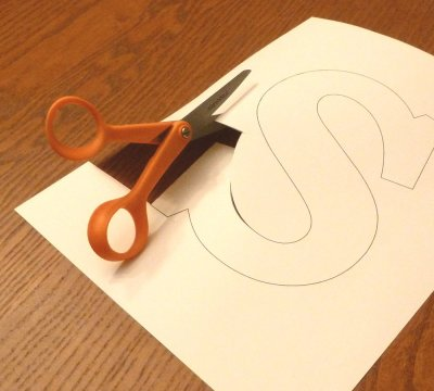 Cutting Out the Monogram